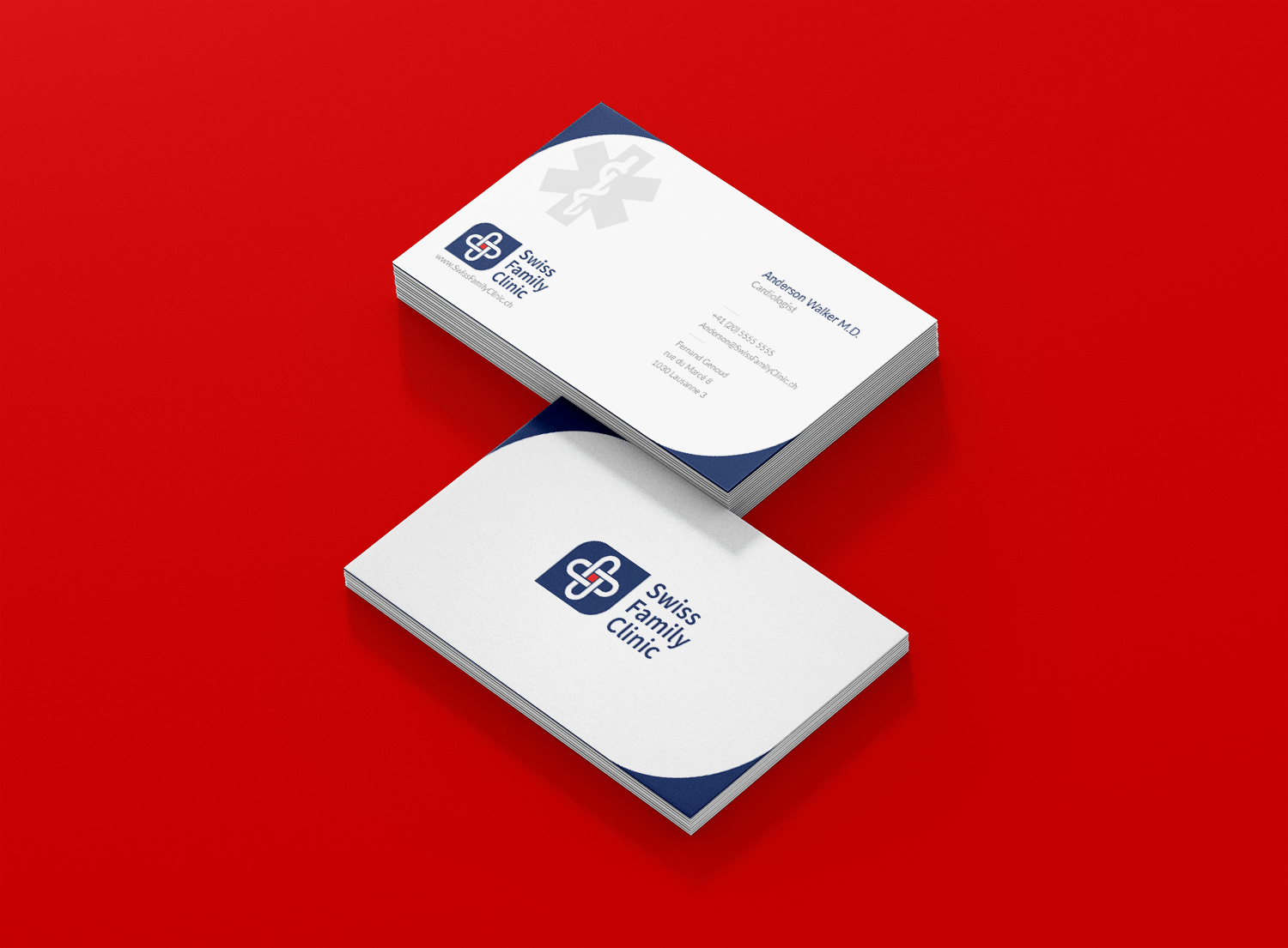 Swiss Family Clinic  Branding