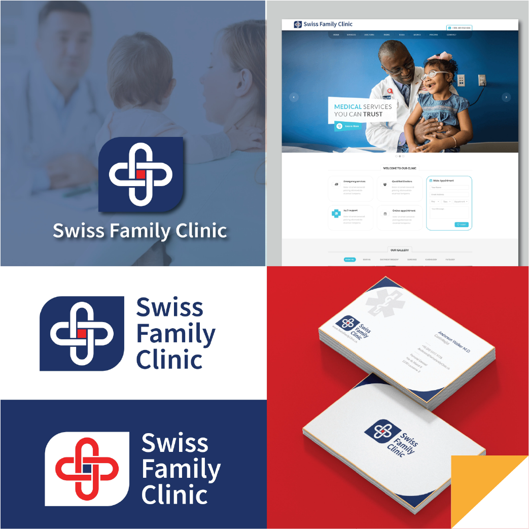 Swiss Family Clinic  Brand Identity