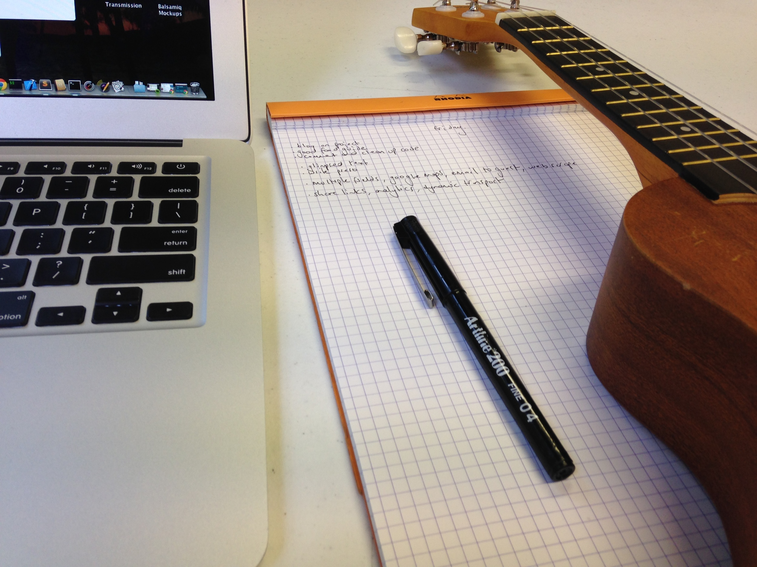 The debugging Ukelele