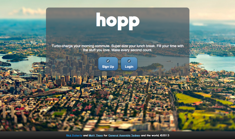 Hopp home