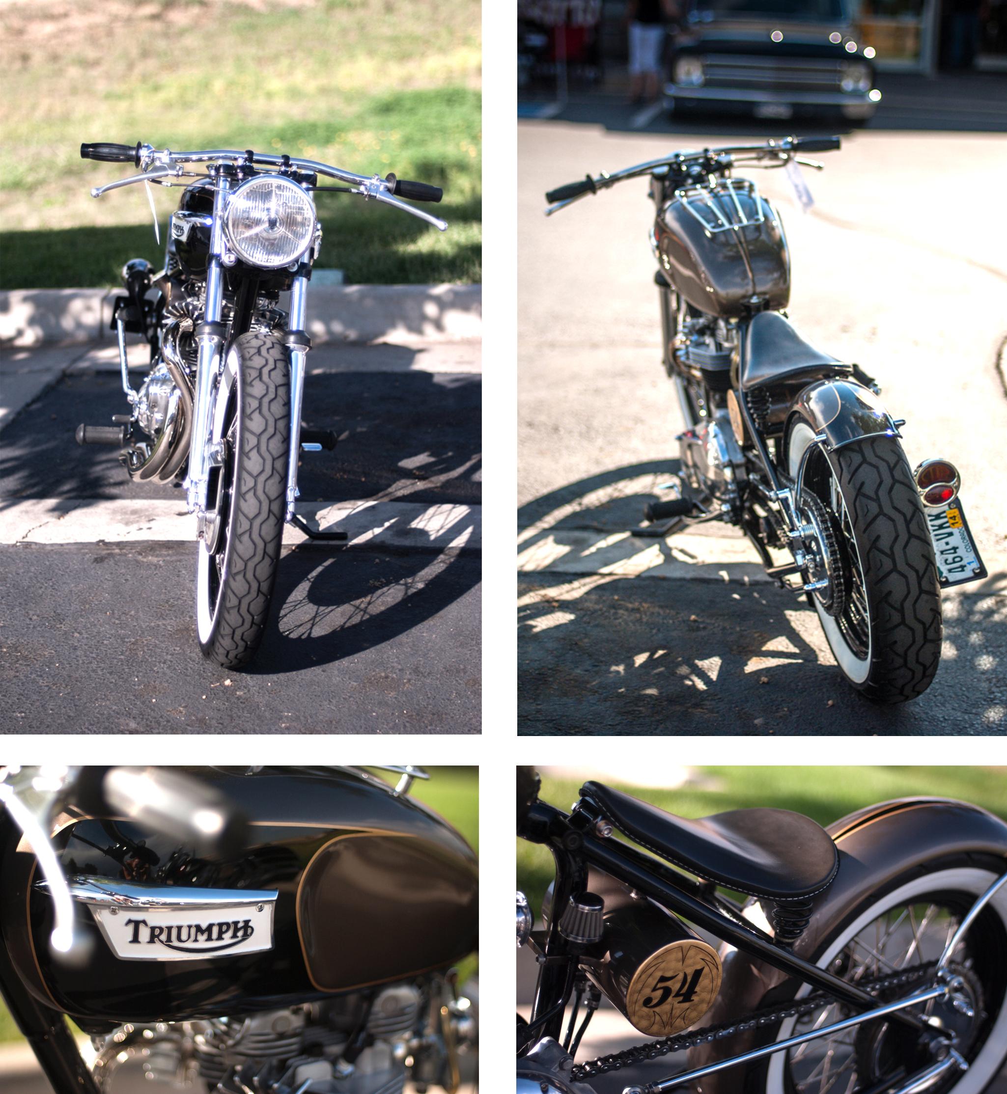 Vintage Triumph Bobber
