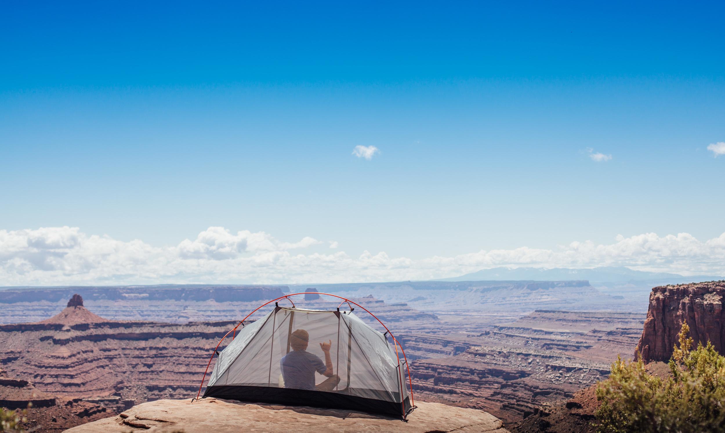 Overlooking Canyonlands, Utah.