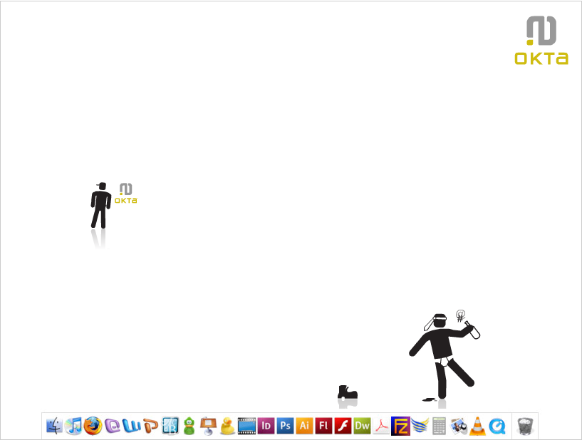 Animated desktop app