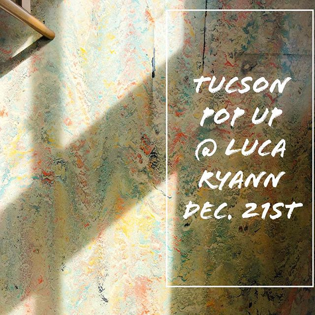 TUCSON! I'll be back in town for a one night only pop-up at @luca_ryann_ ✨Friday Dec. 21st 5-8pm  I'll have my full silver inventory and all gold rings with me, so come on by and enjoy some wine with us!