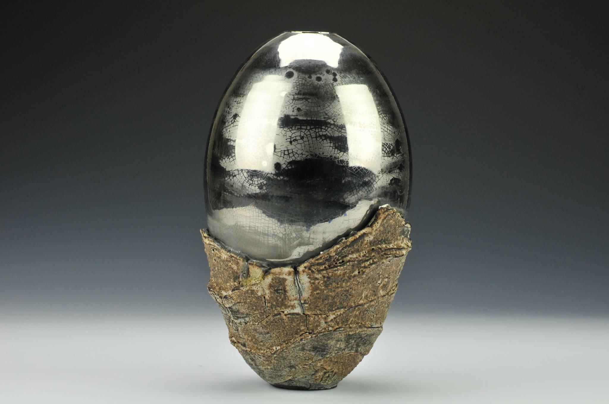 Platinum Xenolith Vase
