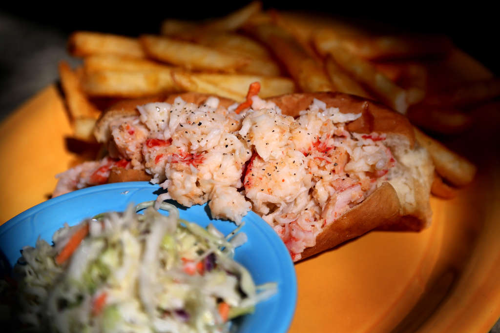 "At Get Hooked in Hudson, the ""Delicious Lobster Sensation"" contains fish other than lobster. (DOUGLAS R. CLIFFORD 