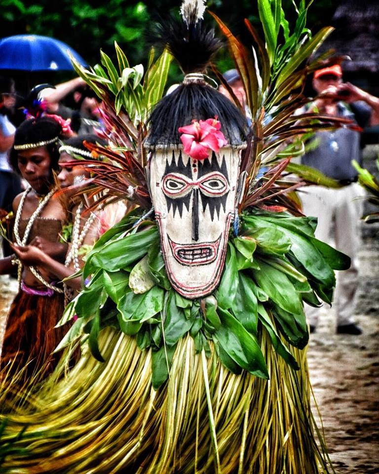 Tumbuan Mask, Tami Islands