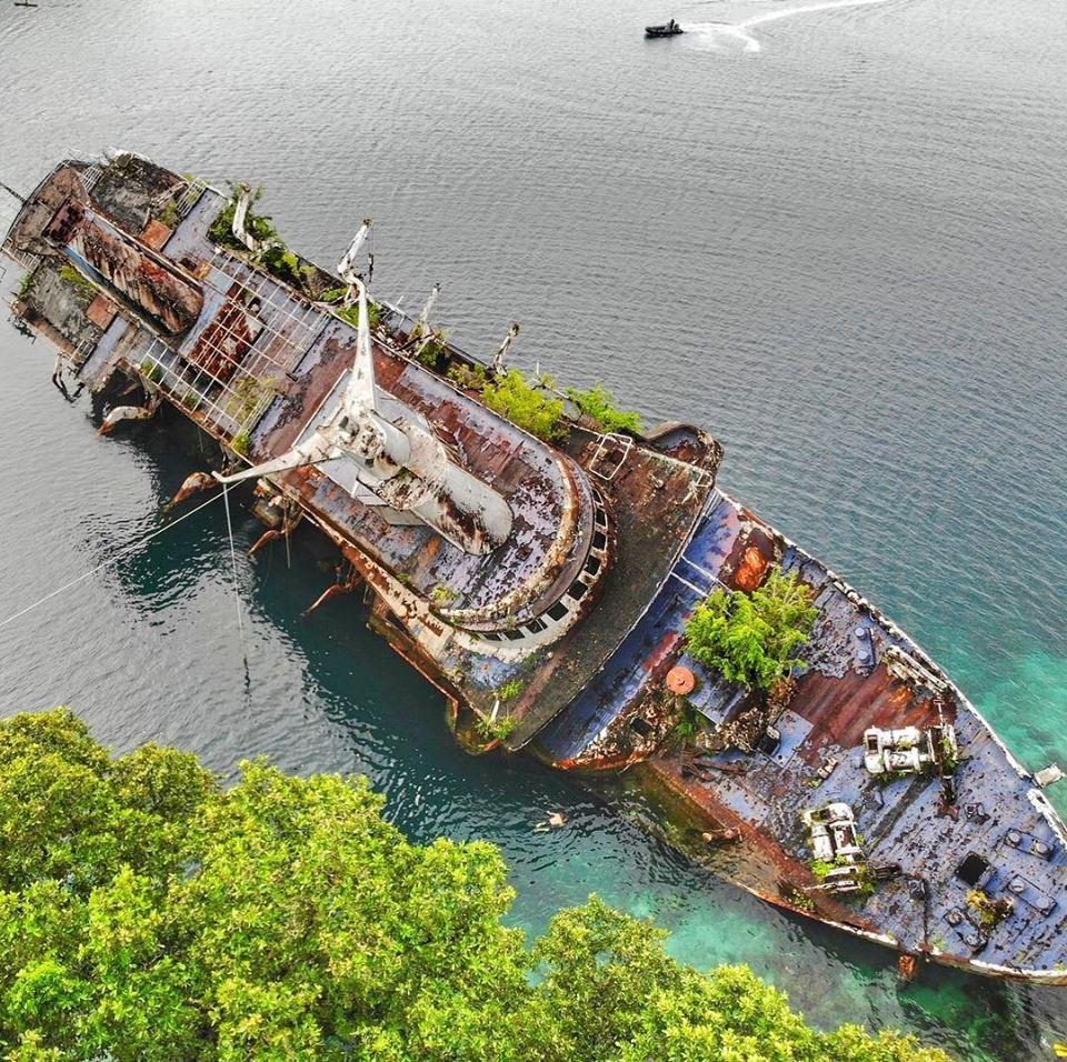 Wreck of the World Discoverer, Solomon Islands