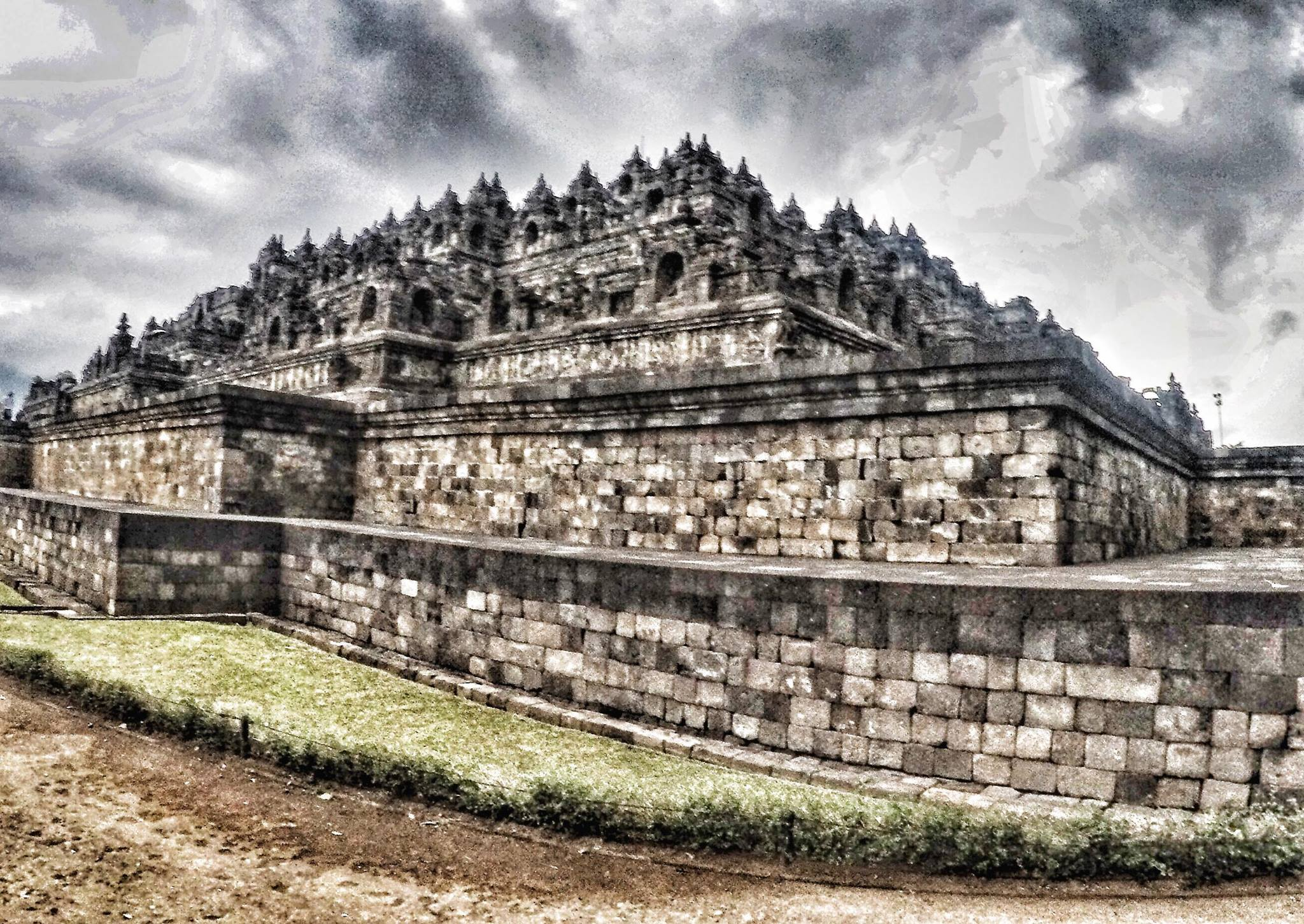 borobudur temple, java