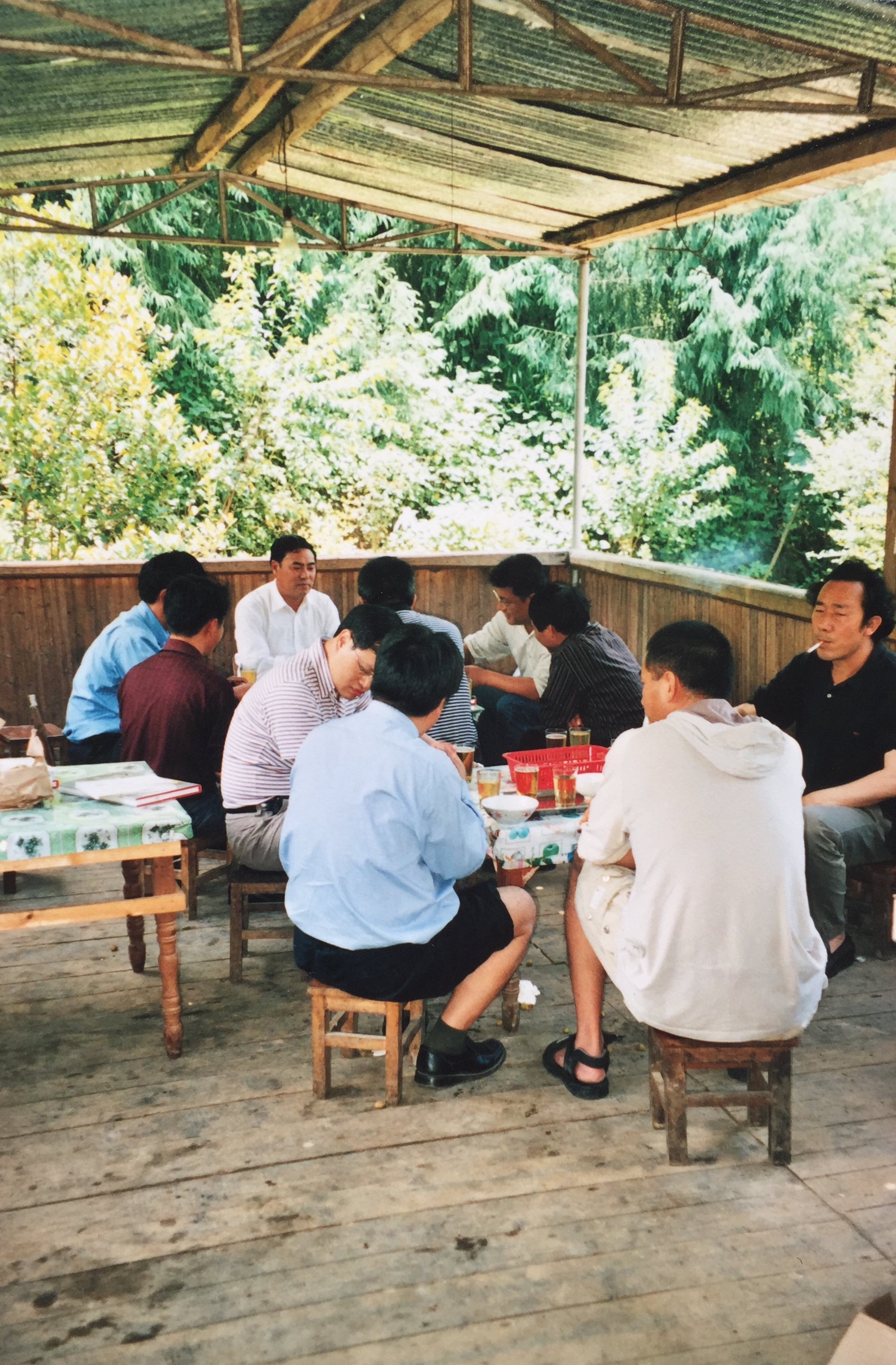 Tea time with Tengchong friends