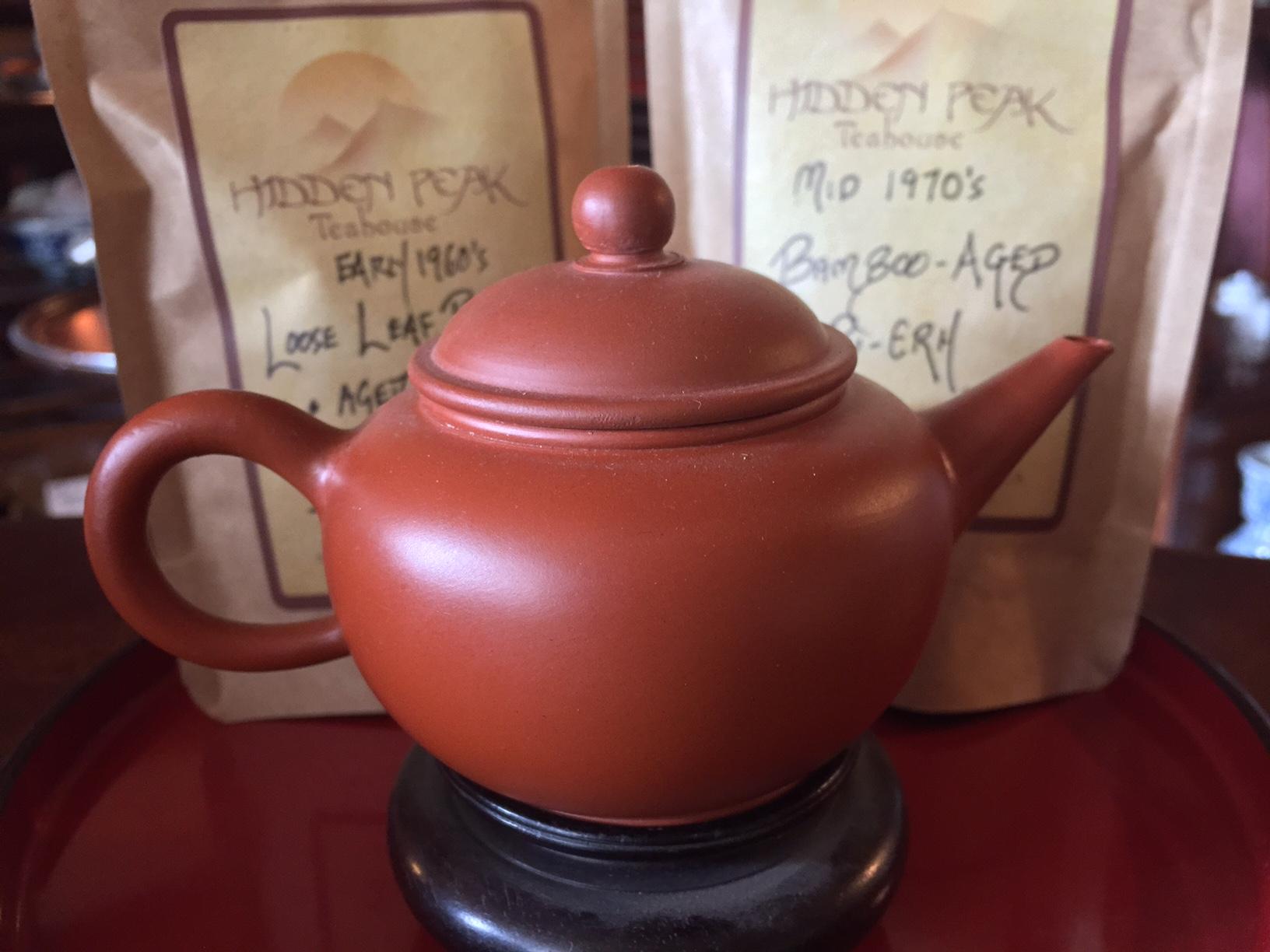 Red Shui Ping Yixing Gung Fu Teapot