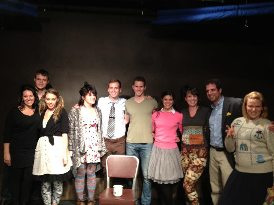 Photo from the first ever FRESH PRODUCE'd show 5/17/2012