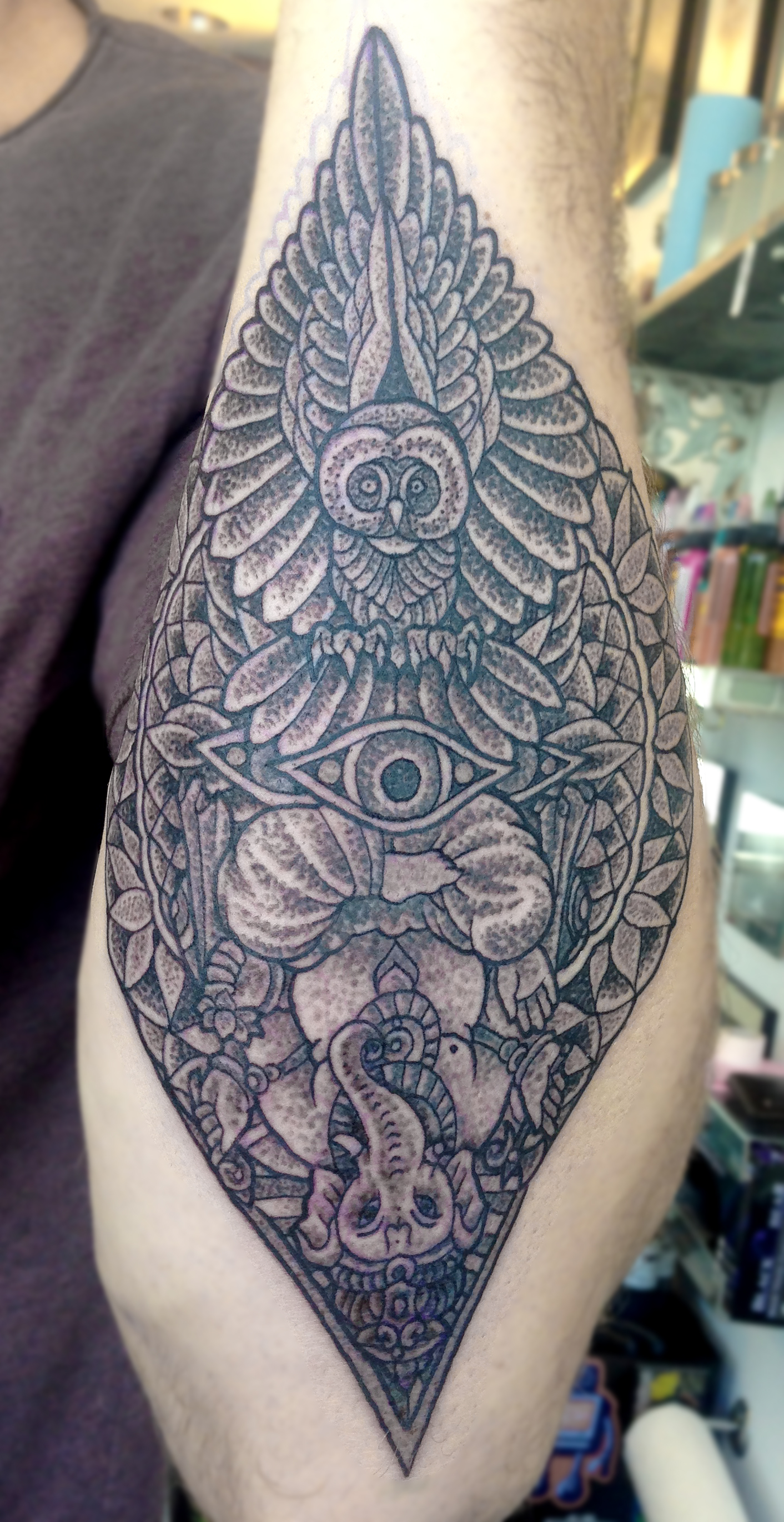 Victoria, BC Tattoo Studio - Paradigm Tattoo Company - Tattoo Artist - Cohen Floch - Vancouver Island - Tattoo Shop - Japanese - Mandala - Traditional - Tattoos