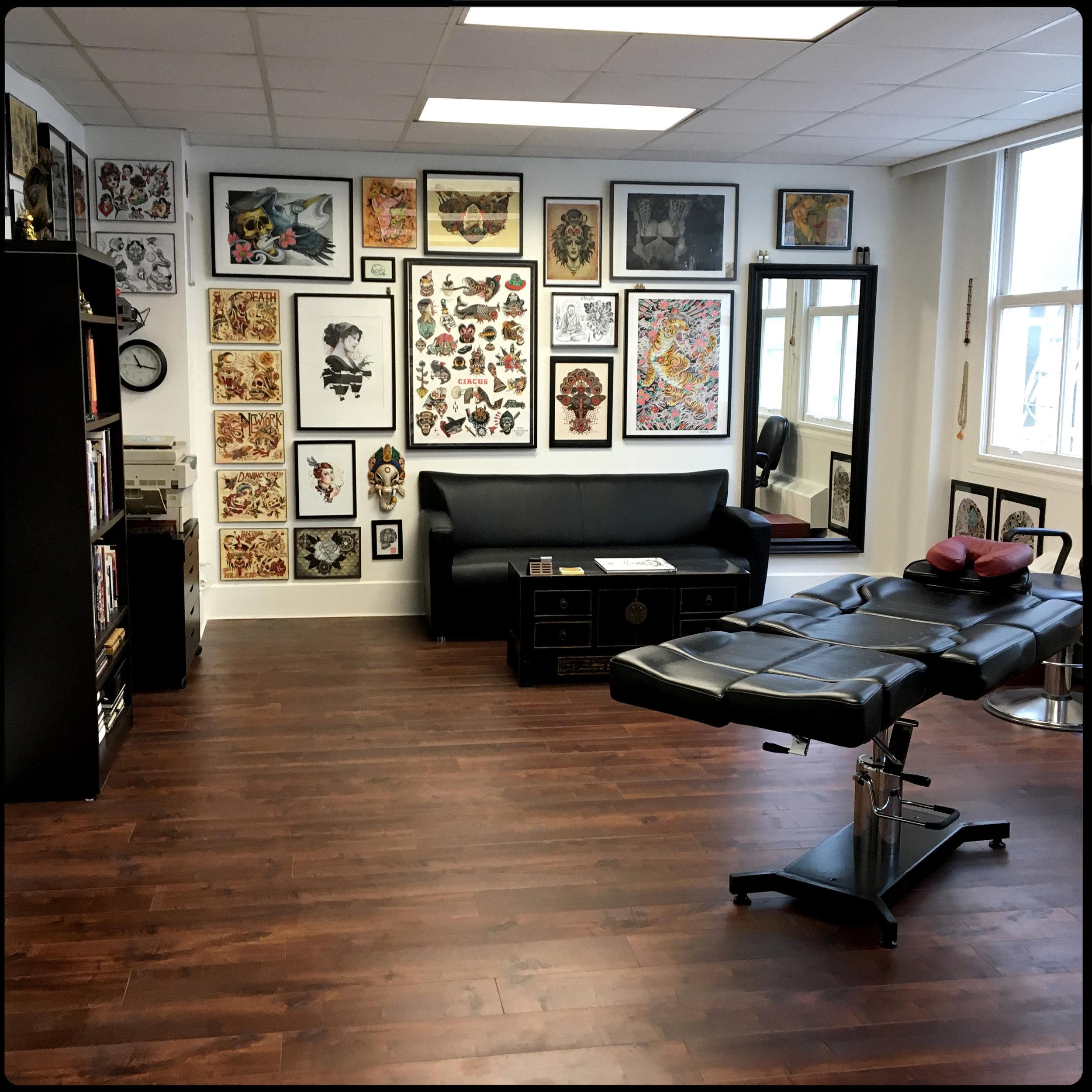 Victoria, BC Tattoo Studio - Paradigm Tattoo Company - Tattoo Artist - Cohen Floch - Vancouver Island - Tattoo Shop - Japanese - Mandala - Traditional - Tattoos