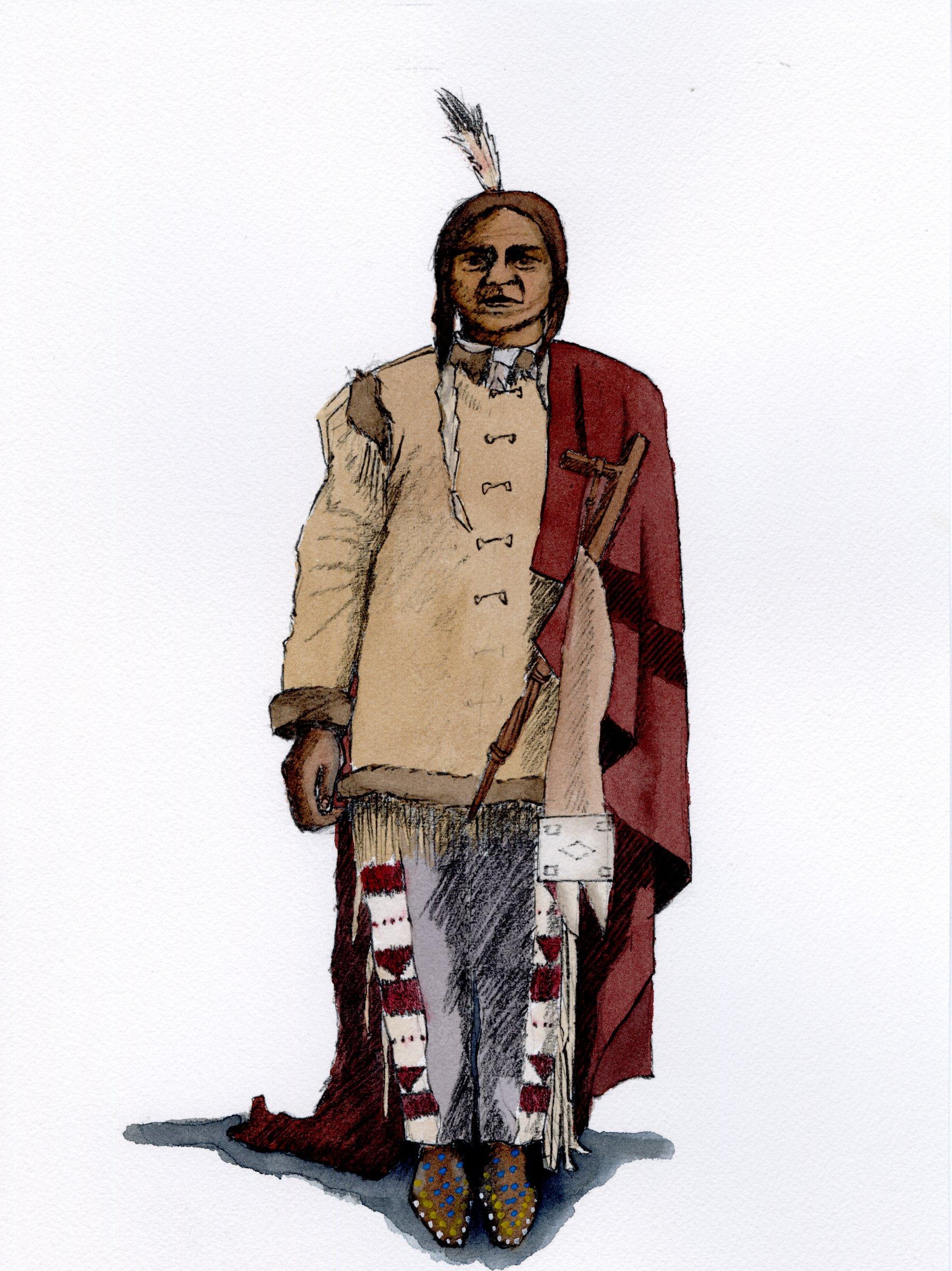 Sitting Bull 1884