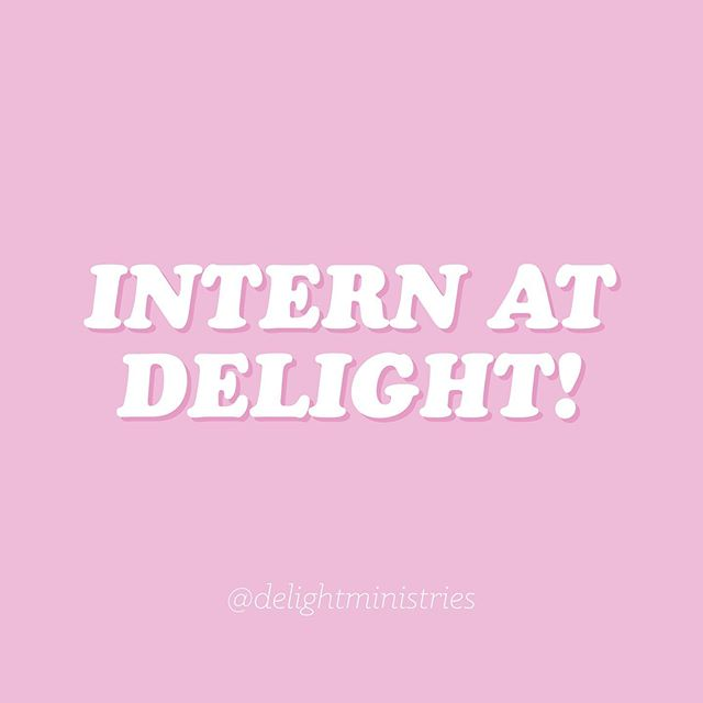Applications are NOW OPEN for Fall Internships at Delight! ✨🎉✨ We are looking for three Nashville-based college women, one Marketing Intern and two Administrative Interns, to join us this fall at Delight HQ! Click the link in our bio to learn more and apply!
