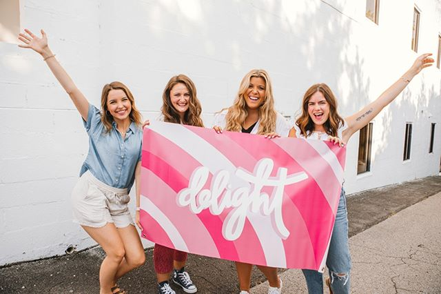 Put your hands up if you're ready for the new school year!! 🙋🏻‍♀️🙋🏼‍♀️🙋🏾‍♀️ Classes are starting back up in the next couple weeks and you know what that means - DELIGHT IS BACK! 🙌🏽⠀⠀⠀⠀⠀⠀⠀⠀⠀ ⠀⠀⠀⠀⠀⠀⠀⠀⠀ Are you looking for Christ-centered community on your campus? We have over 150 chapters across the country with women just like you who gather for the purpose of seeking Jesus together! Click the link in our bio to see if there's a chapter on your campus! ✨💖🌟💕