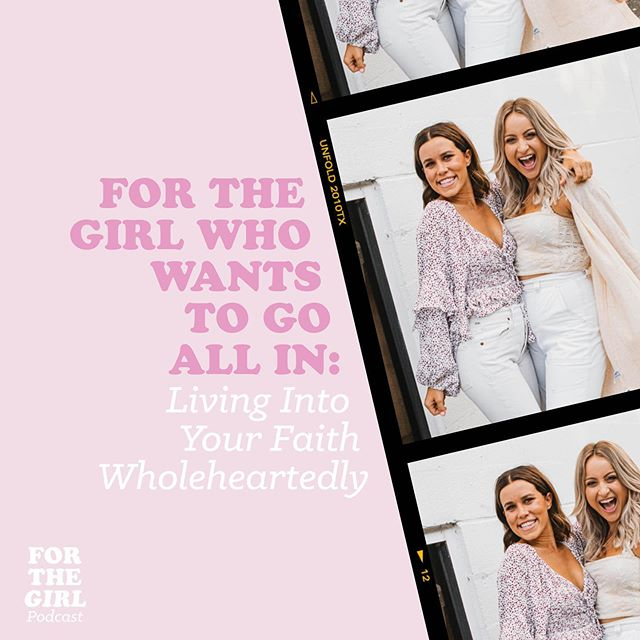 It's HERE! 💗 This week's episode of the Podcast is For the Girl Who Wants to Go ALL IN!!! 🤩 In this episode, we talk all about our personal journey of living into our faith wholeheartedly and why we think God is calling you to go ALL IN with Him!!! 🙌🏻 We have been so excited to release this because it SO echoes our heartbeat behind Delight! Can't wait for you to hear it!!! 🎉💕🌶