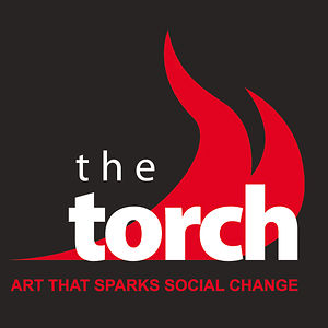 the torch logo