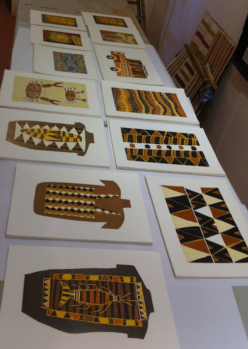 Elcho Island 2012 prints