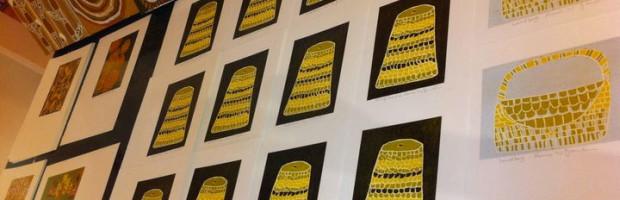 Mavis Ganambars paintings and prints