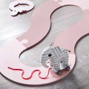 Tapis enfant et peluche éléphant - Done by Deer