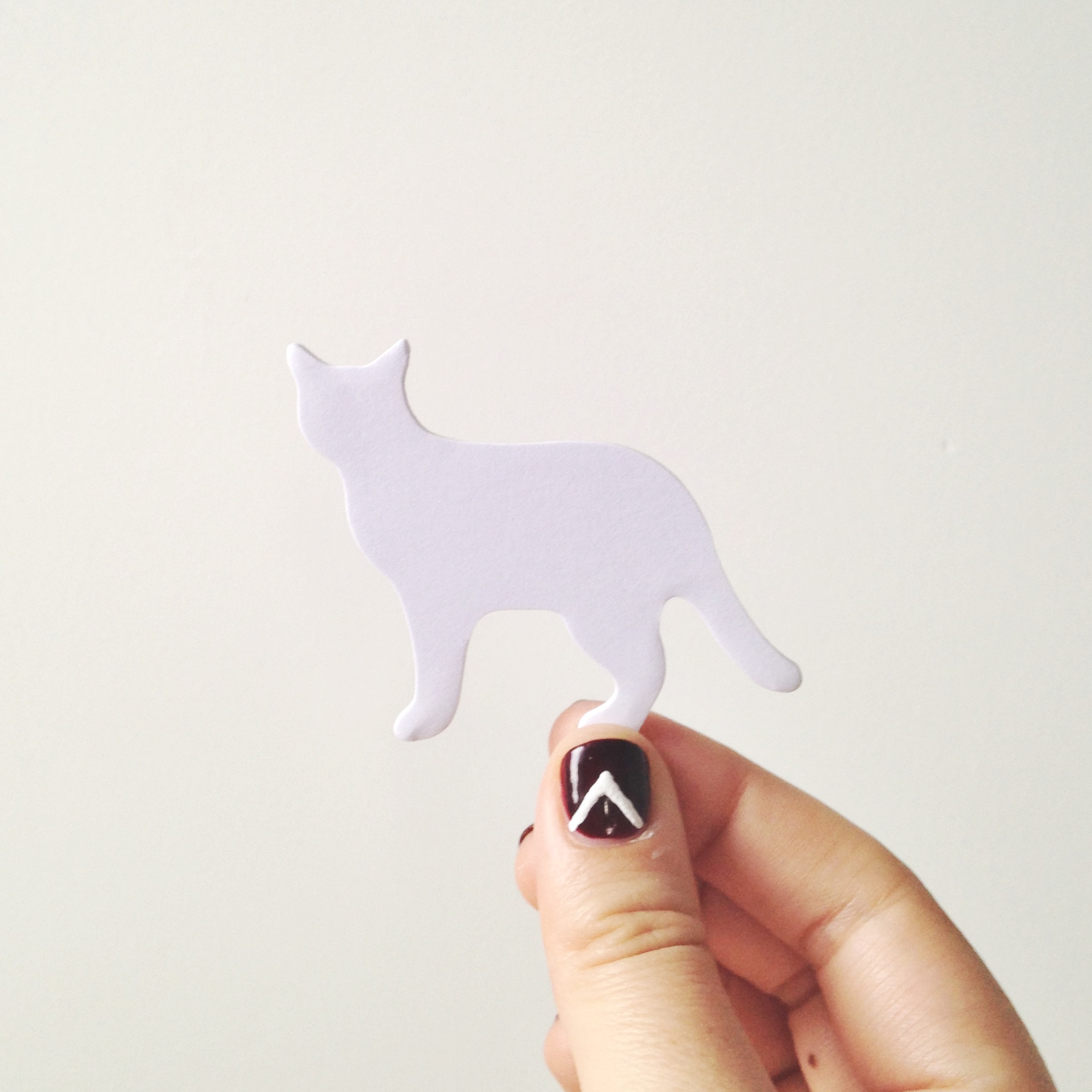 4//. these awesome kitty 'sticky notes' from the awesome Matt - they were a gift from his year  in Japan {super jelly}.