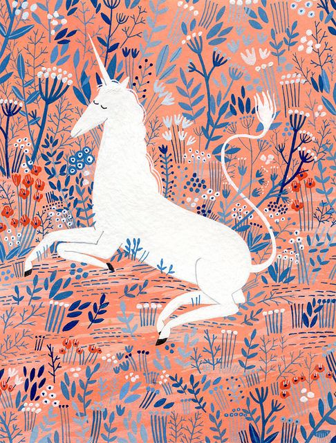 {this will be me - an oasis of unicorn calm!} image  source.