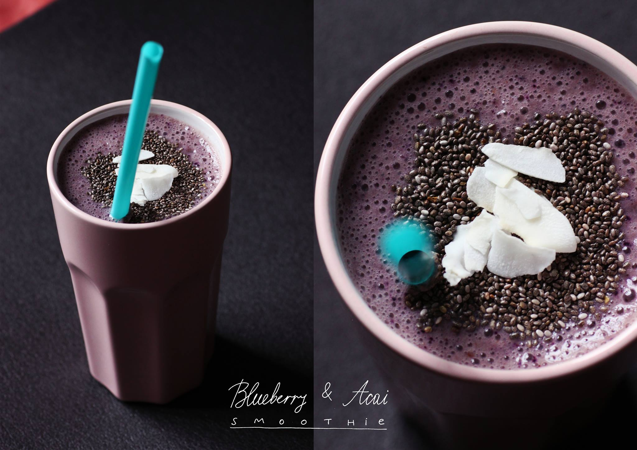ohnorachio.com / Blueberry & Acai Smoothie by Dessy Baeva