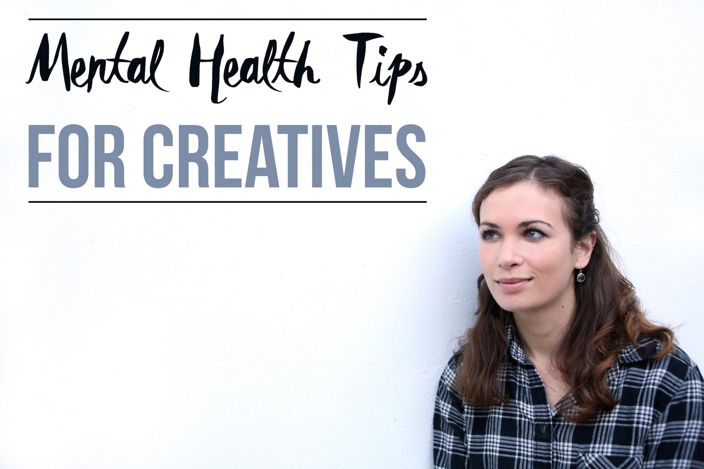 ohnorachio // mental health tips for creatives