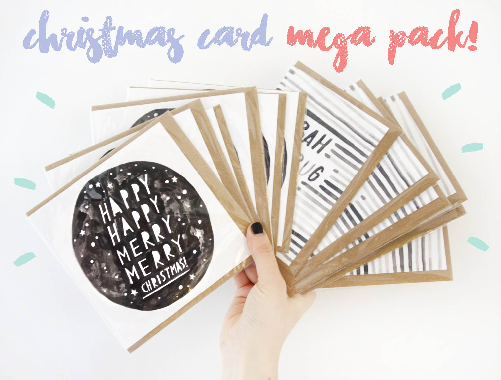 OH NO RACHIO! Christmas Card Pack