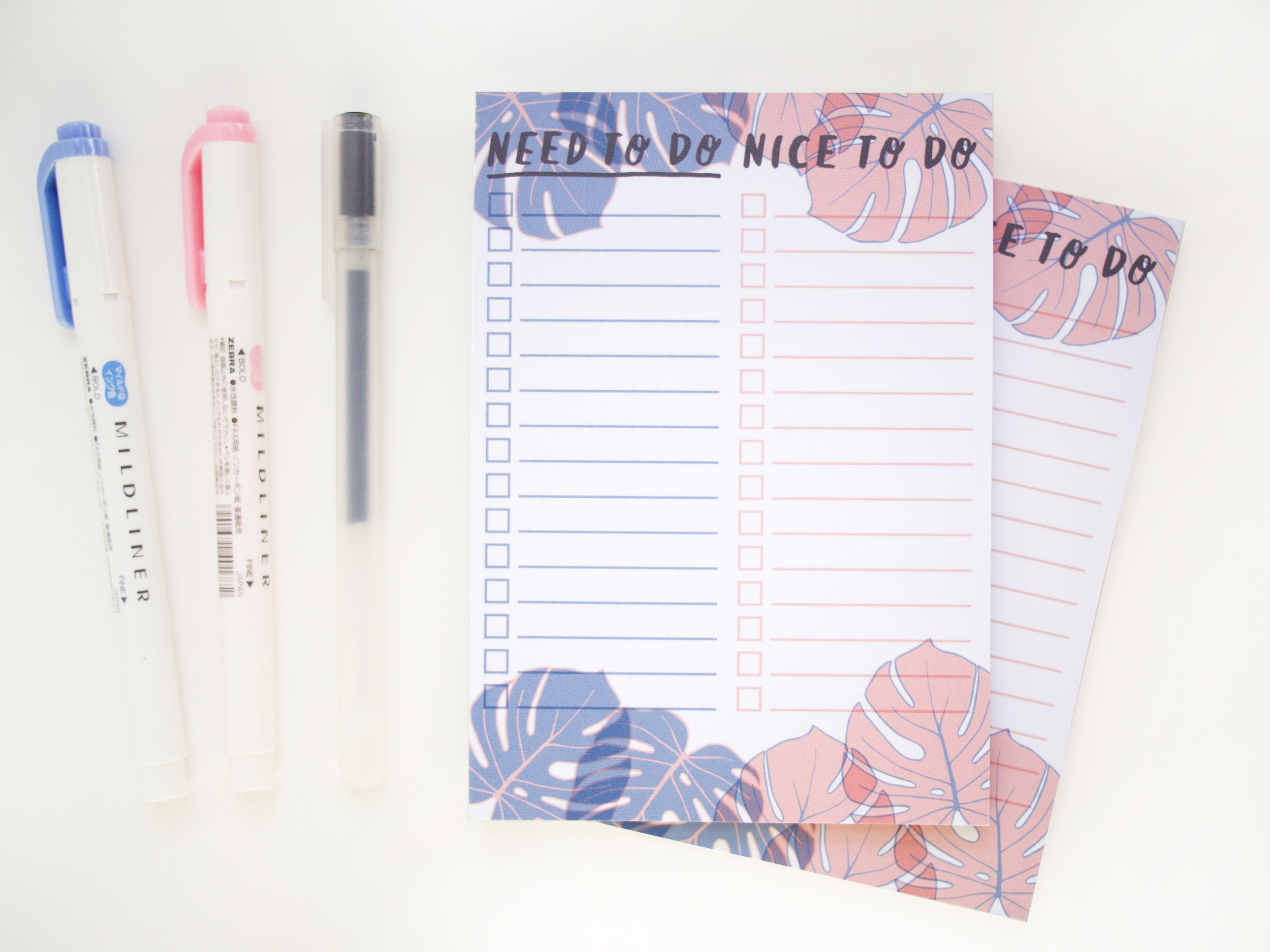 Monstera Leaf Notepad To Do List // store.ohnorachio.com