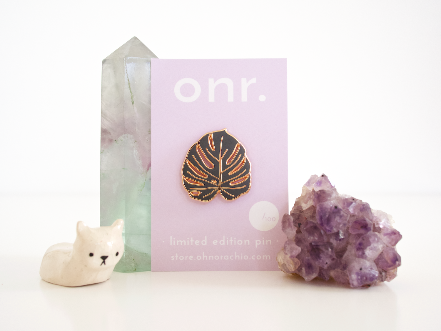 onr. shop // limited edition cheese plant pin