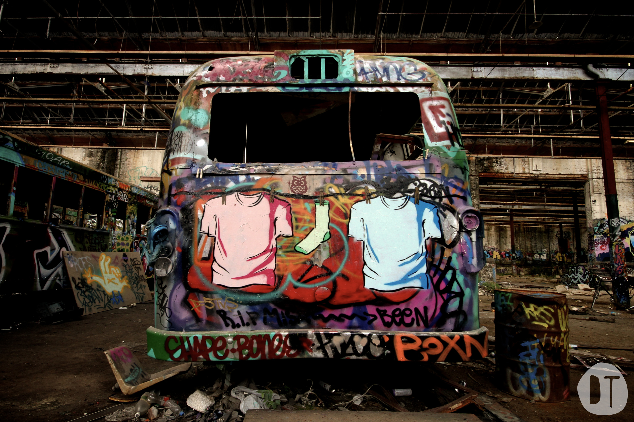 GLEBE TRAM SHEDS - GLEBE (2011)