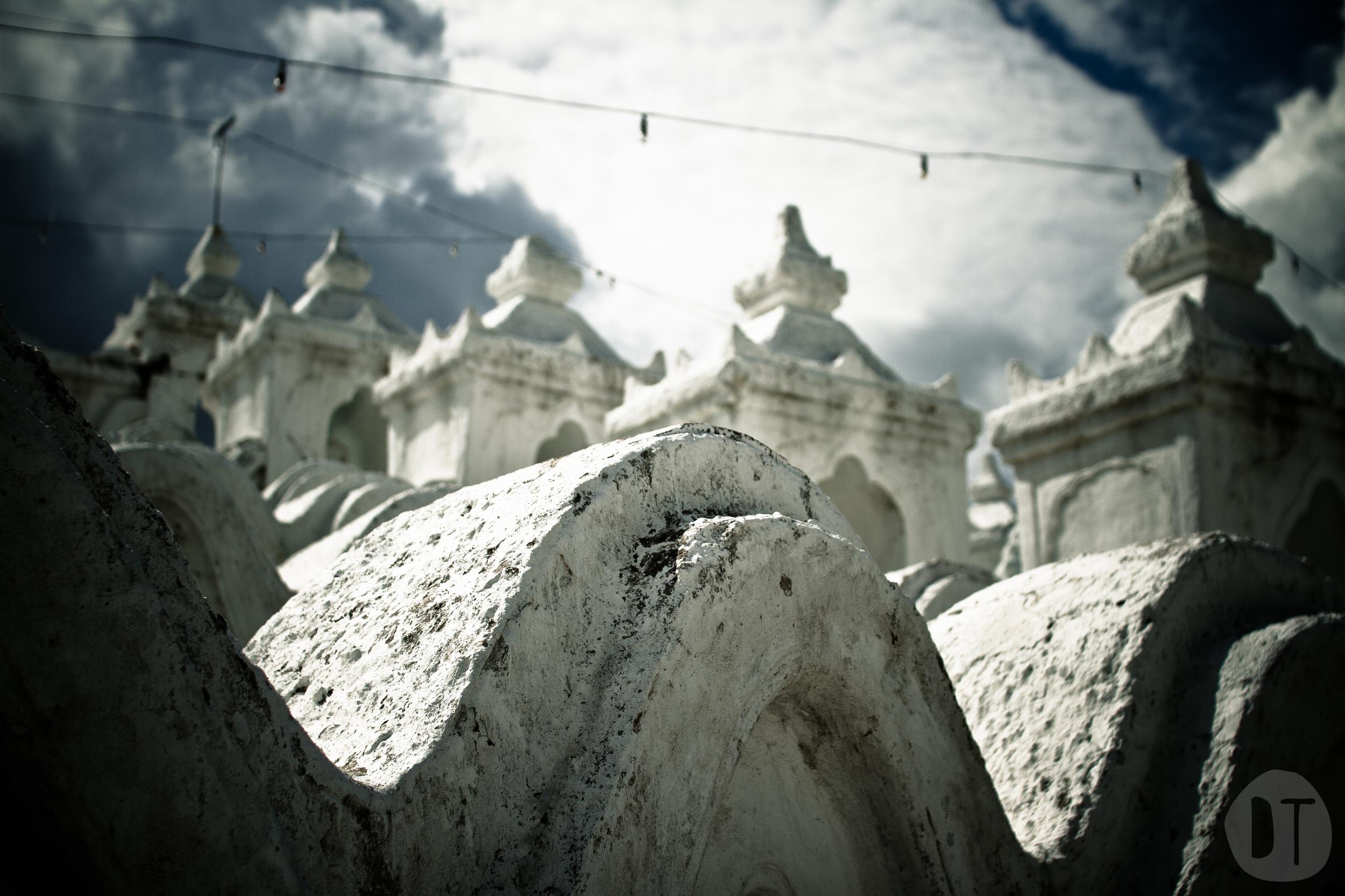 Hsinbyume Pagoda, Mingun.