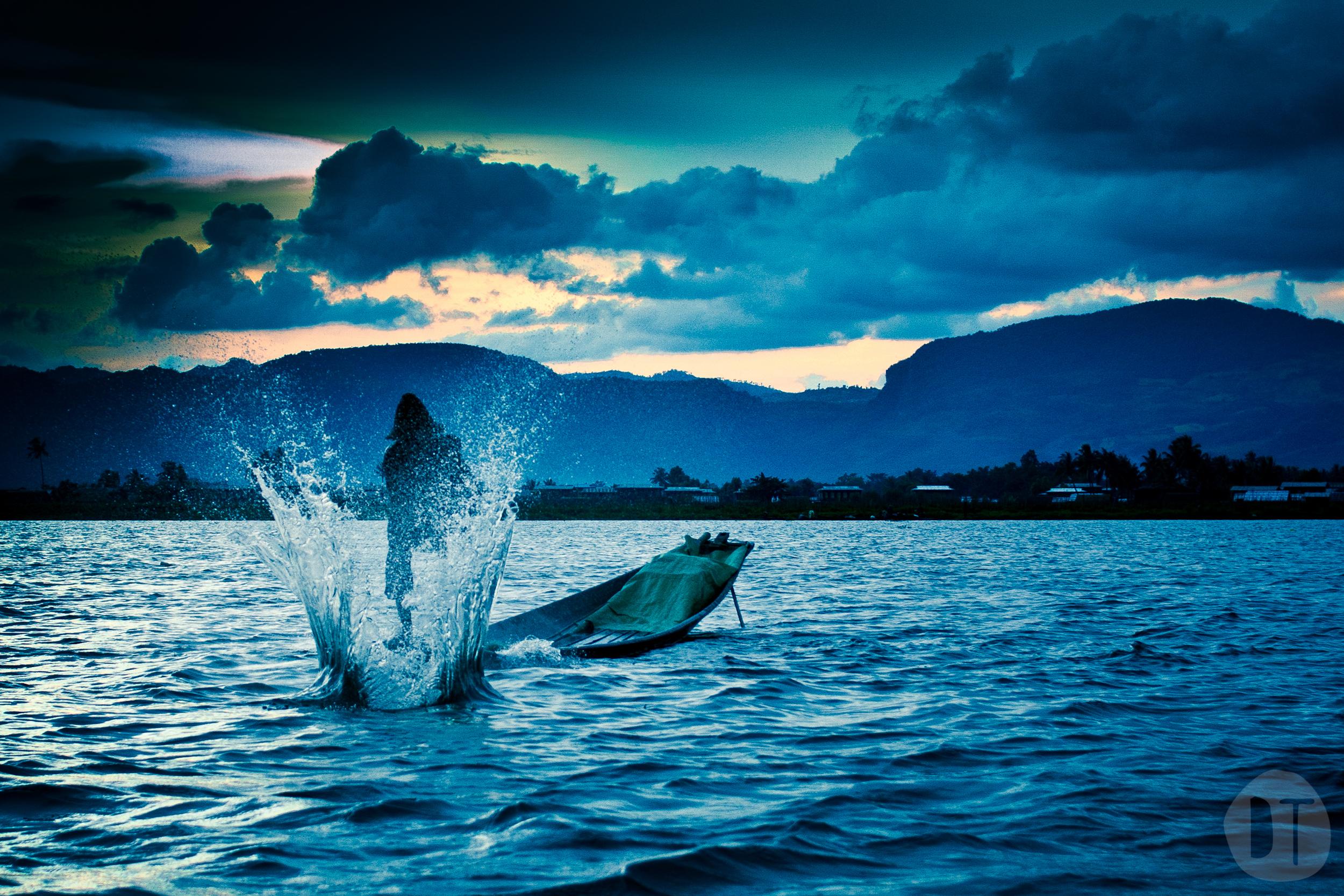 (Over)fishing.