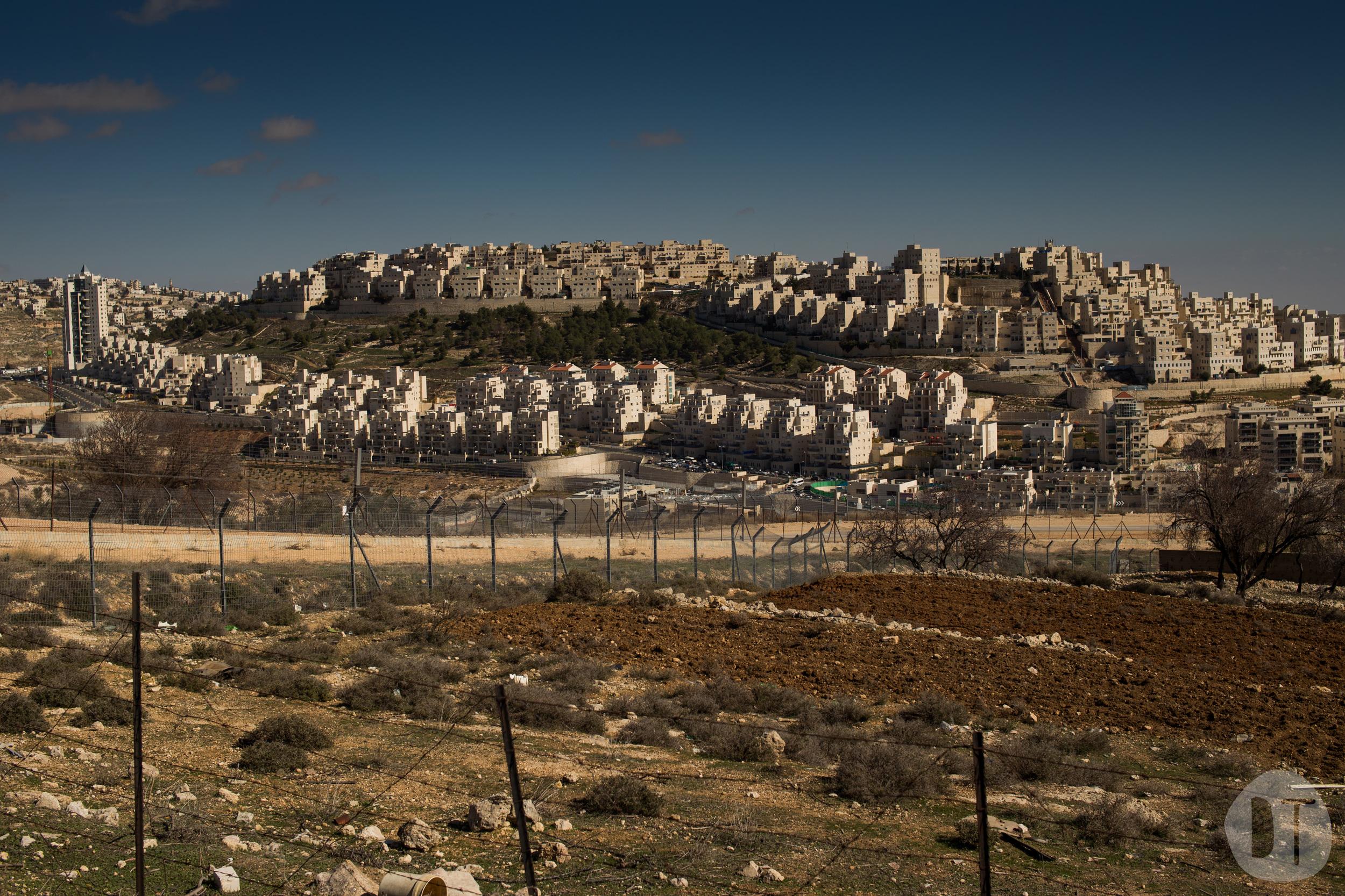 A Jewish settlement on the outskirts of Bethlehem