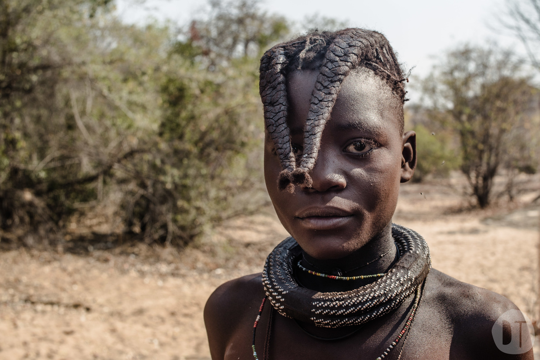 HIMBA BOY -kaokoveld, NAMIBIA