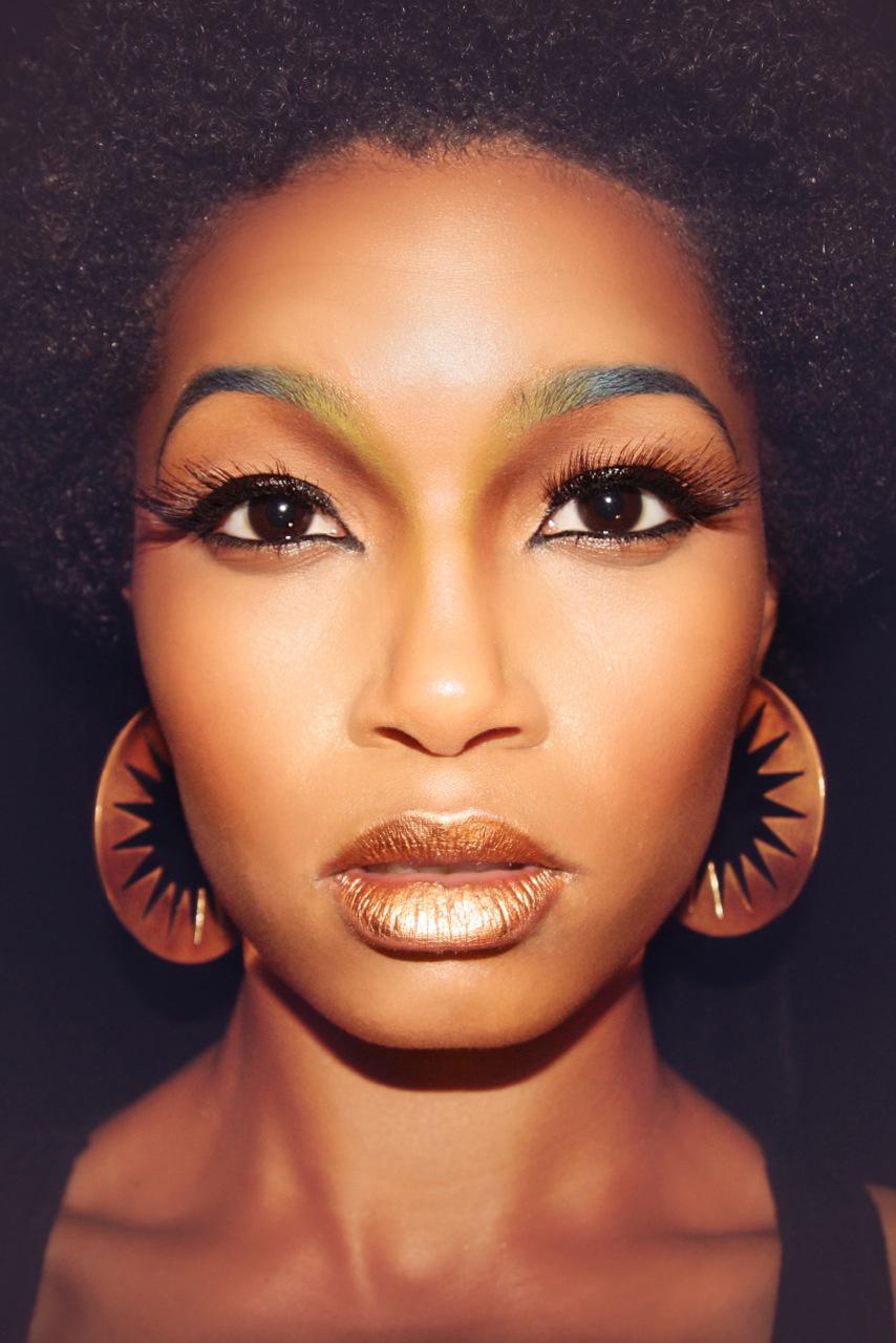 Photoshoot | Fantasy Makeup | Tymia Yvette