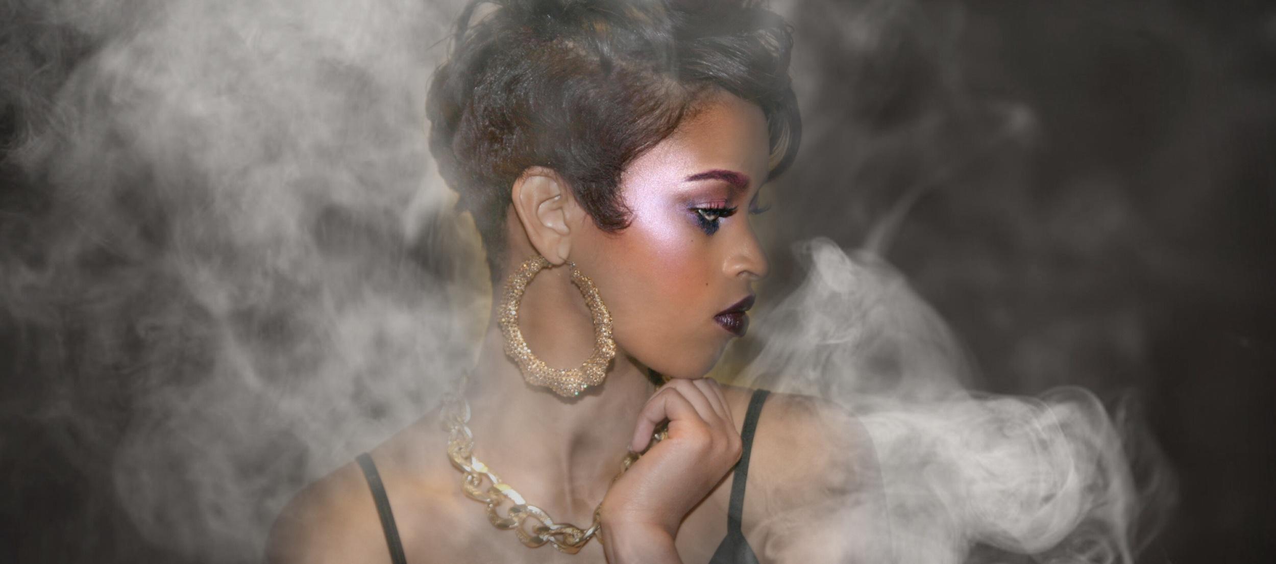 Tymia Yvette | Editorial Photo Shoot | Baltimore Maryland Makeup Artist