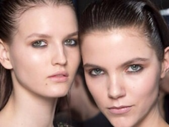 Create that slept-in look with the blackest BLACK eyeliner.