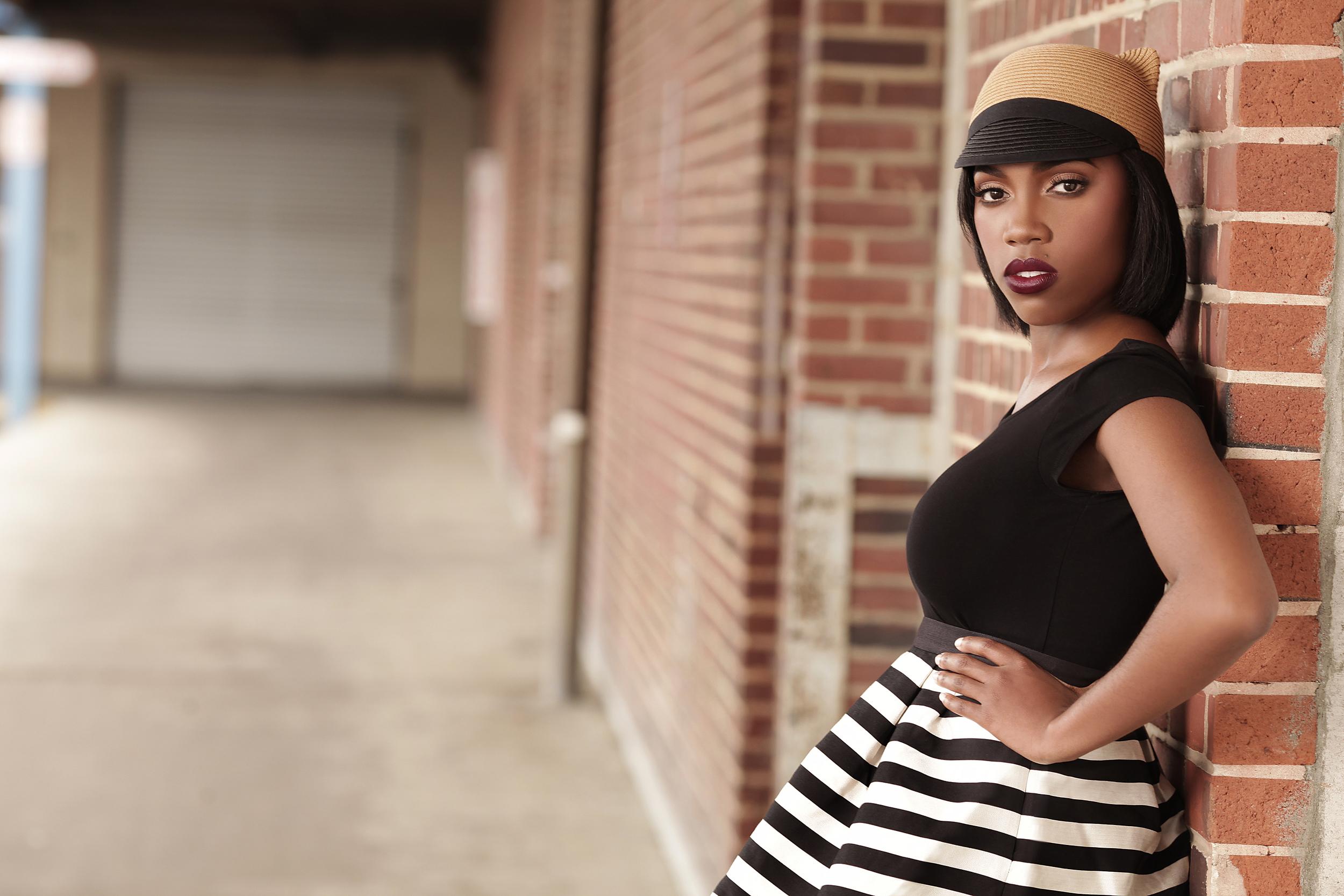 Tymia Yvette | Head Shot Makeup | Maryland Makeup Artist