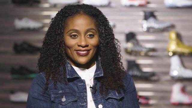 Global VP for Under Armour Adrienne Lofton | TV Interveiw | Tymia Yvette