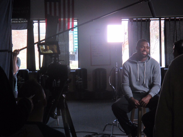 Torrey Smith | NFL Baltimore Ravens | TV Interveiw | Tymia Yvette