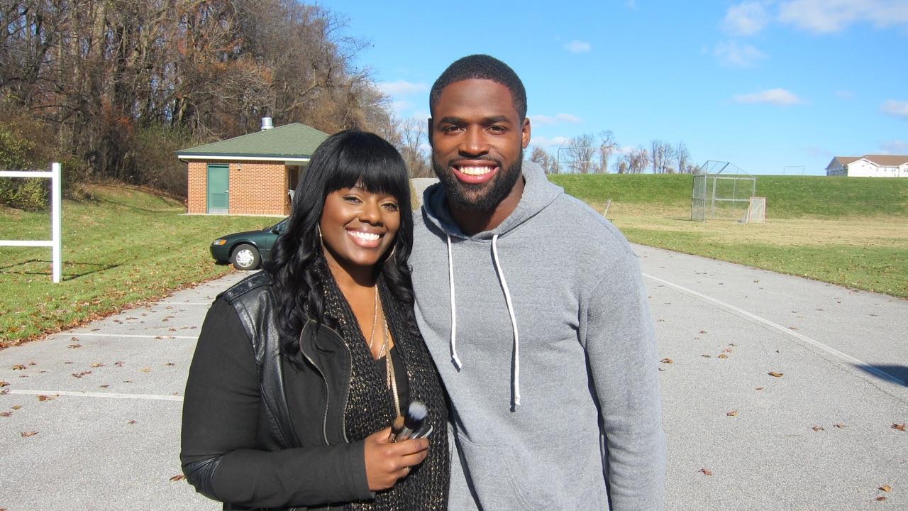 Torrey Smith NFL Player | Baltimore Ravens | Tymia Yvette Behind The Scenes
