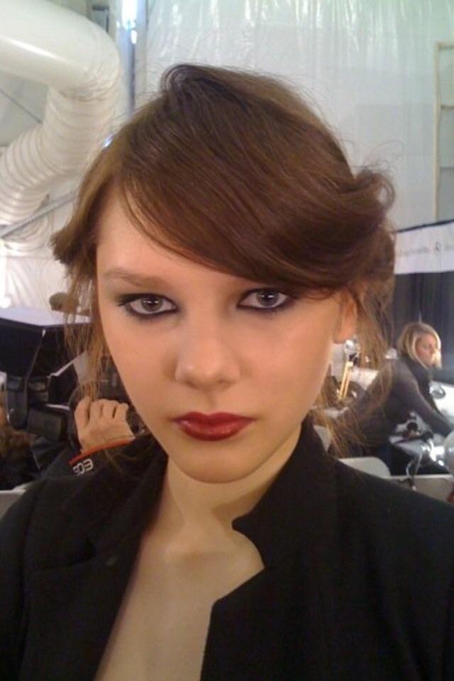 NY Fashion Week Makeup | Behind The Scenes | Tymia Yvette