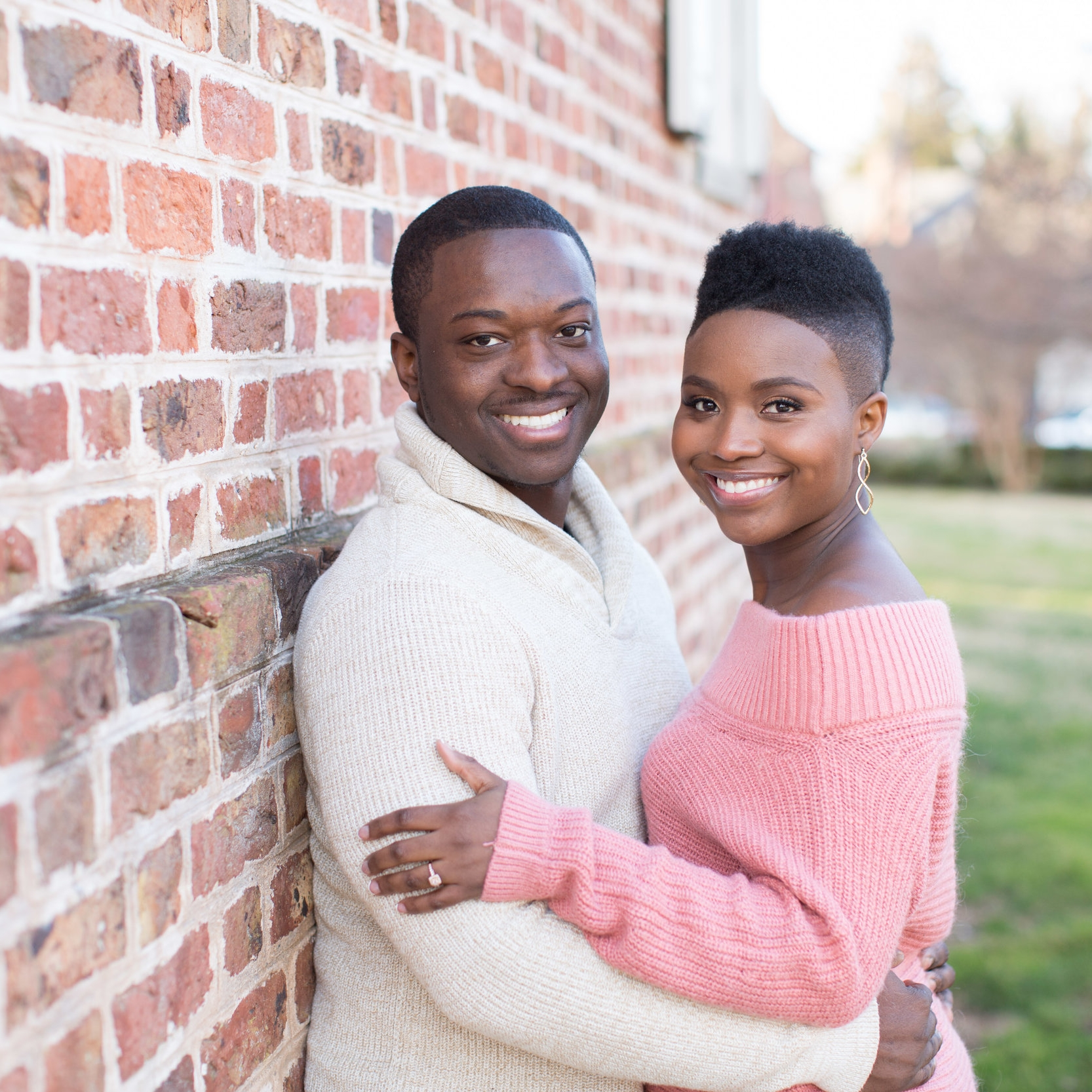 Tymia Yvette | Engagement Photo Makeup | Baltimore Maryland