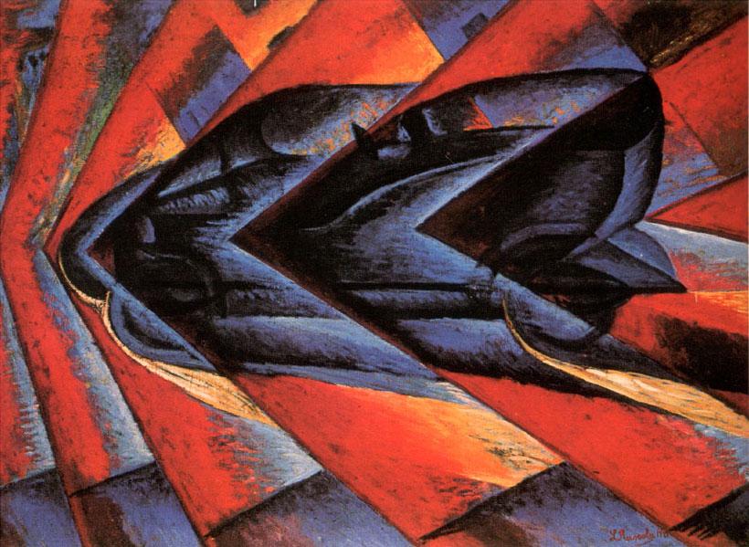 Luigi Russolo - Dynamism of a Car