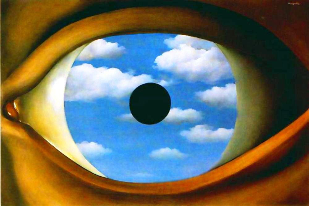 Magritte, False Mirror
