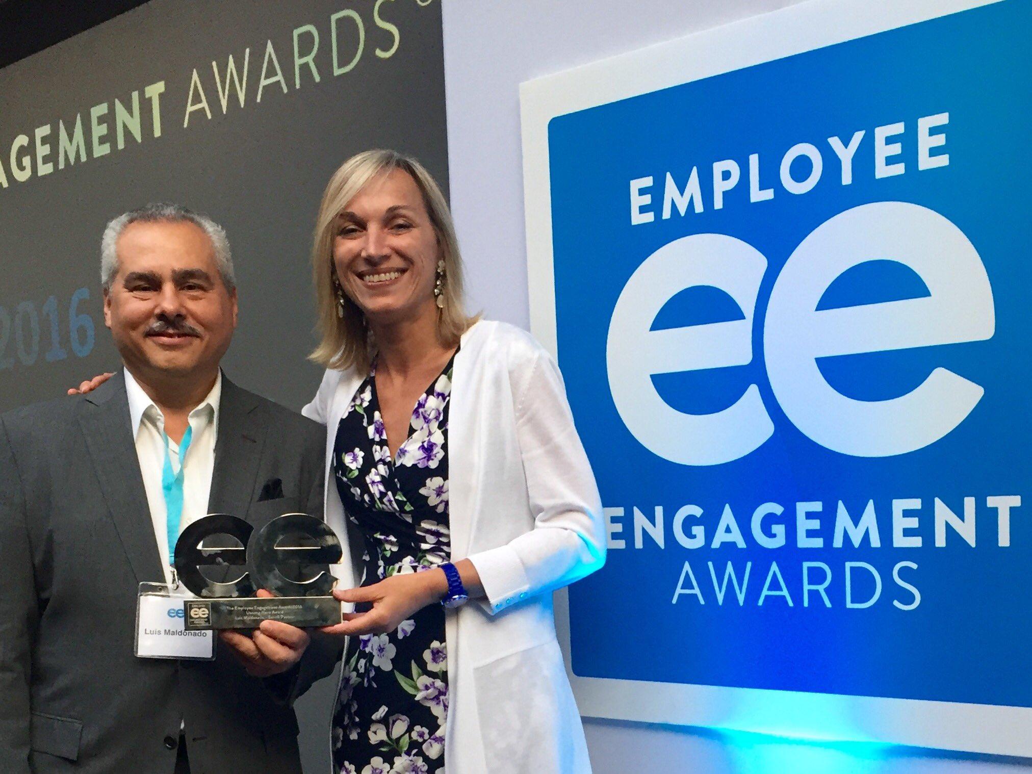 Luis Madonado,  2016 Employee Engagement Awards